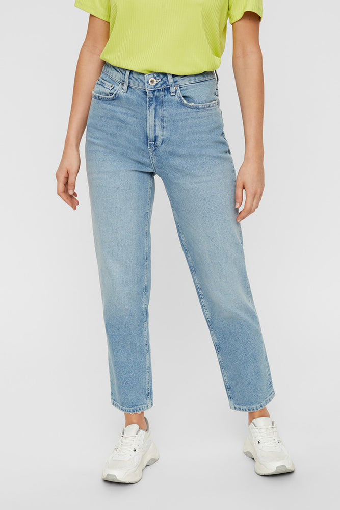Sophie High-waist Straight-leg Jeans