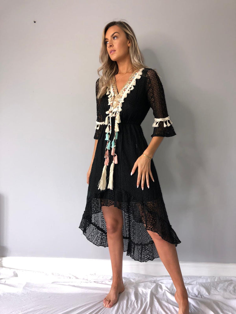 Marbella tassel Dress