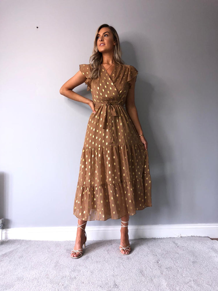Eva Leaf Dress