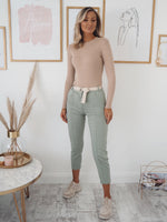 Ivanka Trouser - Sage Green