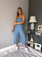 Treea light weight denim Jumpsuit