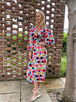 Casindra Floral Wrap Dress