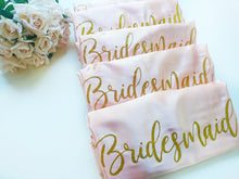 Load image into Gallery viewer, Bridesmaid-Robes-Pink-blush- Shop Pretty Box London
