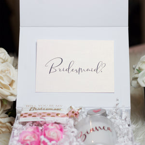 Pink Bridesmaid Proposal Box