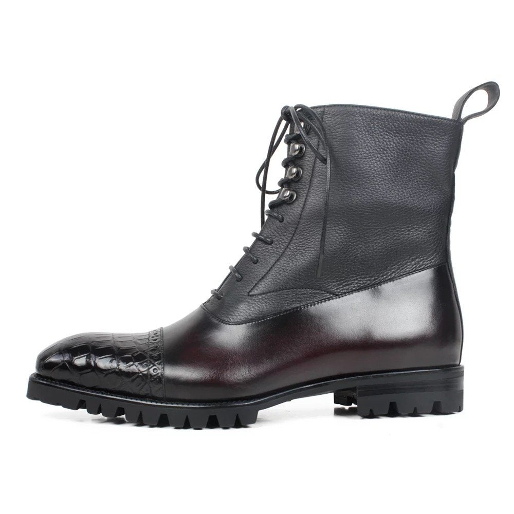 Leather Moto-Boot II