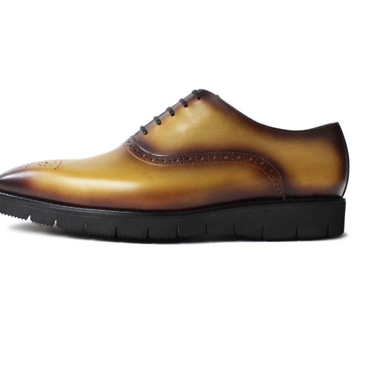 Grain Leather Shoe