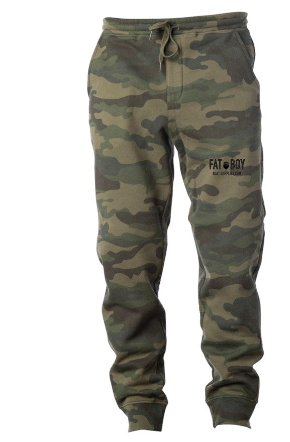 Fatboy Embroidered Camo Sweats