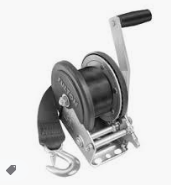 Fulton 142006 900 lb Max Load Personal Watercraft Winch with Strap