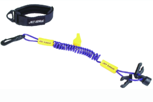 Jet Logic Ultimate PWC Lanyard With 4 Keys to Fit All Brands and Whistle