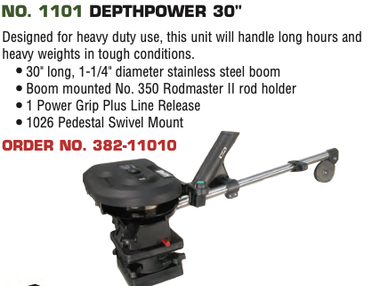 Scotty Electric NO. 1101 DEPTHPOWER 30""