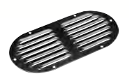 Seadog LOUVERED VENT - OVAL Stamped 304 Stainless