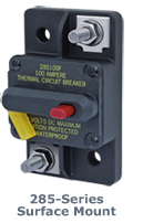 Blue Sea Systems 285 Series DC Cirucit Breaker - Surface Mount