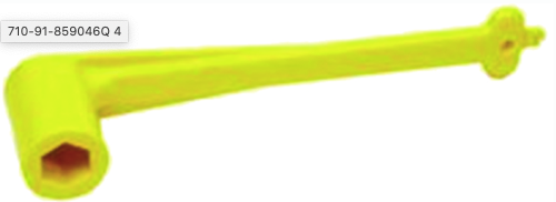 "Quicksilver Prop Wrench, 1 1/16"" (Yellow)"