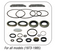 OMC SEAL KITS/BALL GEAR Kit-  UPPER GEAR HOUSING - GLM