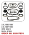 OMC - COBRA UPPER & LOWER GEAR HOUSING SEAL KITS - GLM