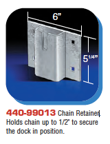 Floating Dock Hardware - Chain Retainer