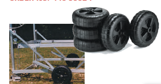 Dock Edge DOCK WHEELS/each