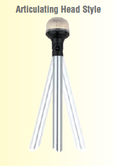 Attwood ARTICULATING HEAD ANTI-GLARE ALL-ROUND POLE LIGHT