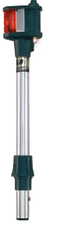 Perko REMOVABLE BI-COLOUR POLE LIGHTS WITH UTILITY LIGHT