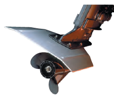 WHALE TAIL XL® ALUMINUM STABILIZER AND SKI BOAT FIN