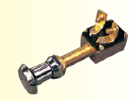 Seadog Stamped Brass TWO POSITION ON-OFF SWITCH