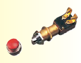 Seadog Stamped Brass MOMENTARY PUSH BUTTON SWITCH