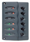 Marinco CONTOUR SWITCH PANEL - 6 WAY