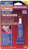 PERMATEX® LOW STRENGTH THREADLOCKER PURPLE