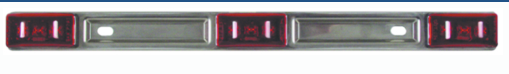 Seachoice Submersible Identification Light Bar\ Red