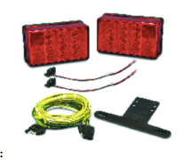 Trailer Light Kit LED 4X6