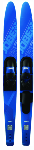 "Jobe Allegre Combo Skis, 67"", Blue or Red"