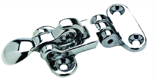 Seachoice Chrome Plated Brass Anti-Rattle Hatch Fastener