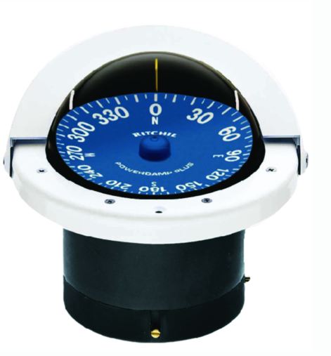 Hi-Performance Compass White