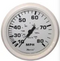 "Faria Dress White 4"" Gauge - Mechanical Speedometer"
