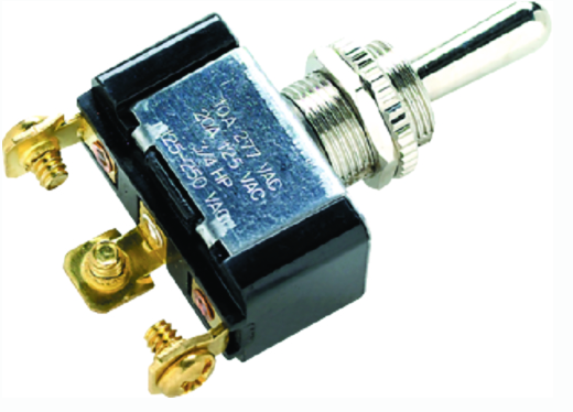 Seachoice 3 Position Toggle Switch With 3 Screw Terminals On-Off-On