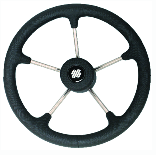 Uflex Steering Wheel-Black Poly 5-Spoke