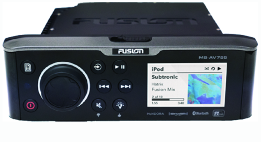 Fusion MSAV 755 Marine Stereo With DVD-CD Player