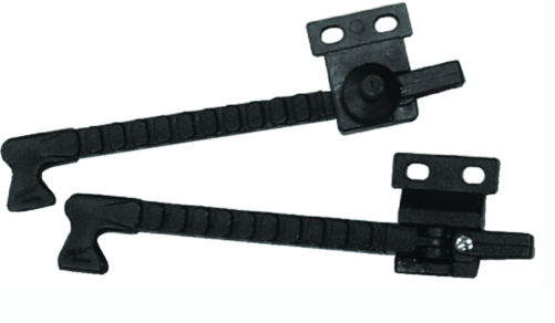 "Taylor Adjustable Side Vent Handles For 1-4"" Mounting Hole"