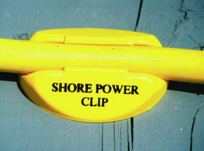 Dock Edge Shore Power Clip For 30 Amp Cords Yellow (4-Bag)