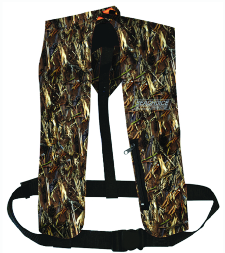 Seachoice Type V Inflatable PFD Man-Auto - Canada Only - Camouflage