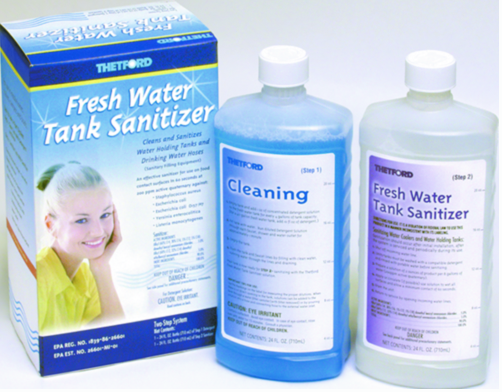 FRESH WATER TANK SANITIZER
