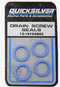 Quicksilver Drain Screw Gasket For Use With the 3-8-16 Drain-Fill Screw