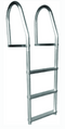 Dock Edge Eco Fixed Dock Ladder, Weld Free Aluminum