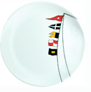 Marine Business MB12001 Regata Tableware Collection, Non-slip dinner plate