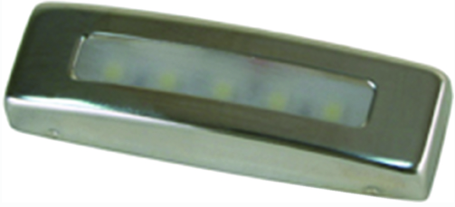 Scandvik LED 12V Courtesy Lights With Polished Stainless Steel Trim