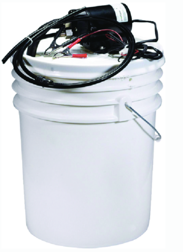 Johnson Pump 65000 12V Complete Oil Change Kit With Pail