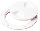 Sea-Dog 337140 Screw Out Deck Plate, White