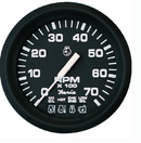 "Faria 32850 Euro 4"" Gauge - 7000 RPM Tachometer With System Check Indicator (Gas"