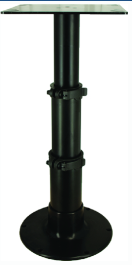 "Springfield 3-Stage 12-3-4""; 20""; 28"" Black Anodized Pedestal Set (Includes Squa"