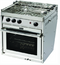 Force 10 FOR63351 Gimballed Gas Galley Range, American Standard, 3 Burner w-Oven